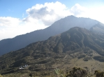 meru with second camp down low