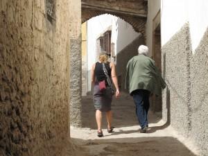 Through the medina